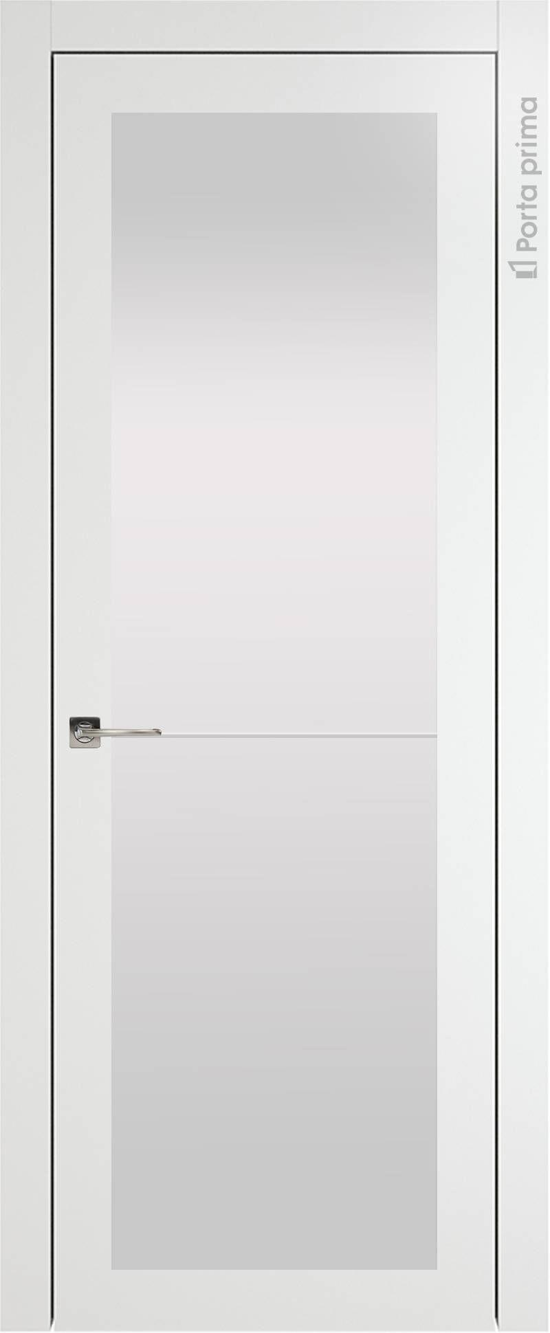 Tivoli З-2 цвет - Белая эмаль (RAL 9003) Со стеклом (ДО)