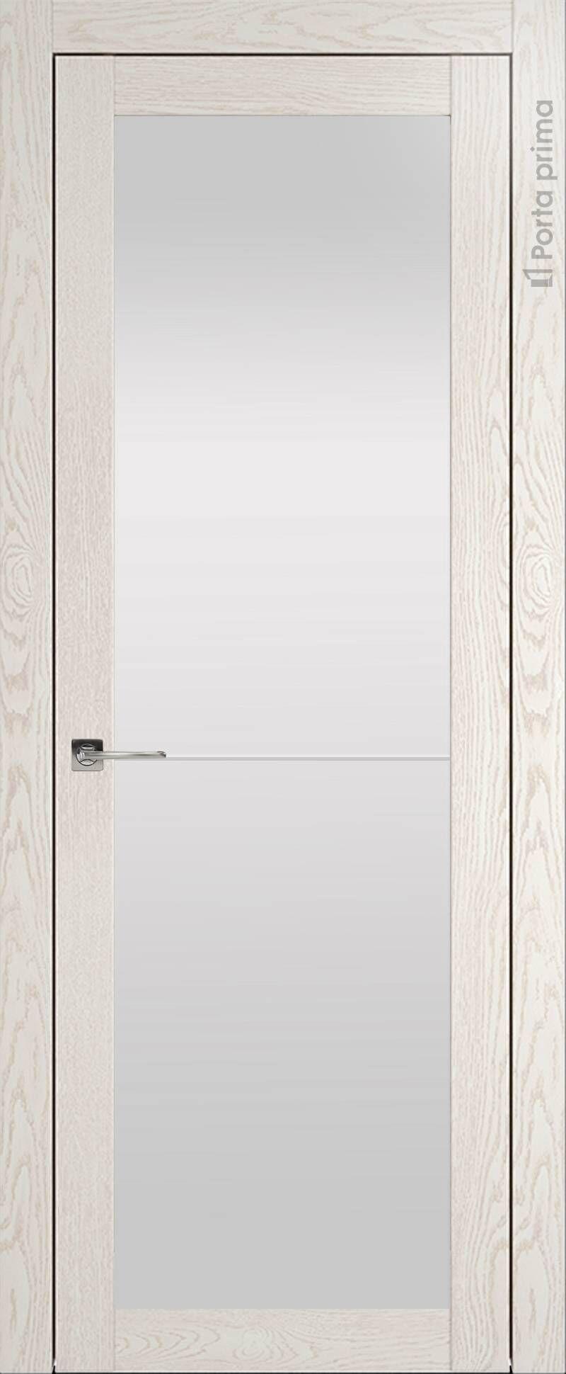 Tivoli З-2 цвет - Белый ясень (nano-flex) Со стеклом (ДО)