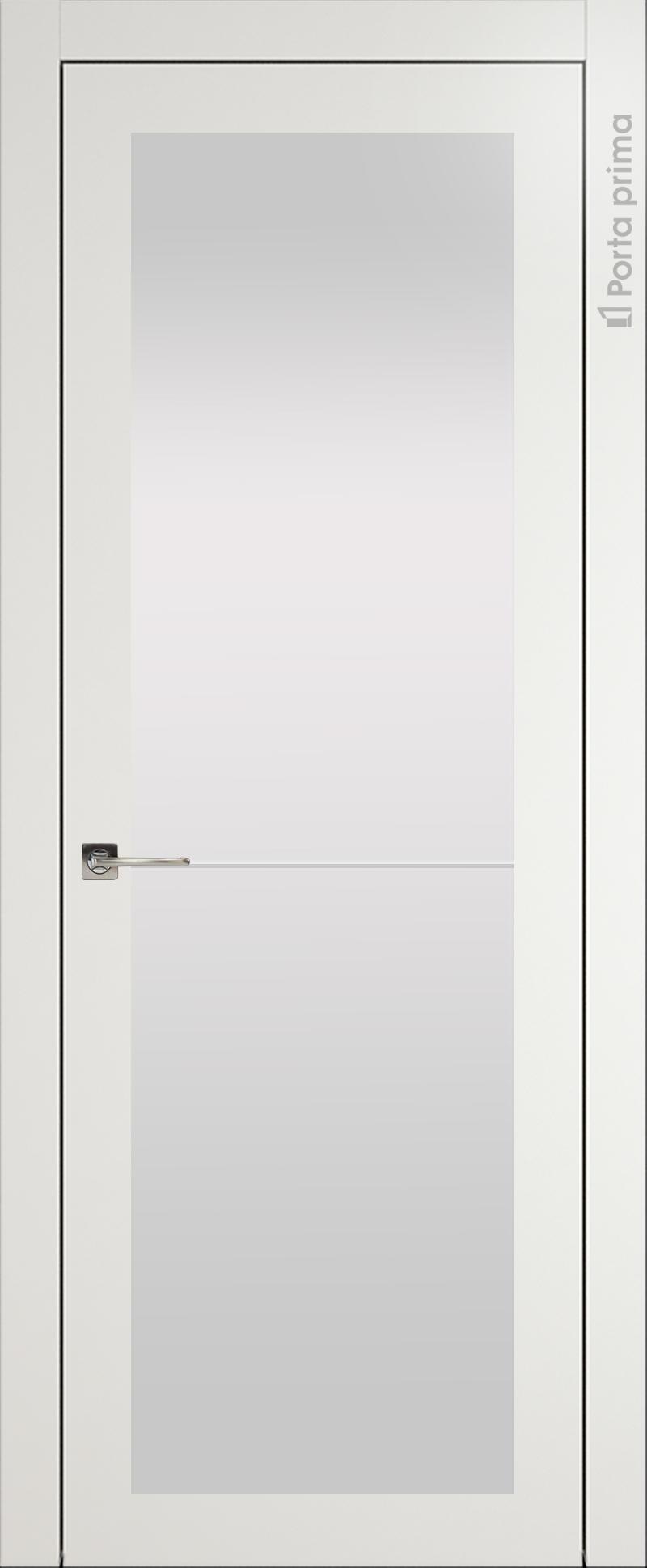 Tivoli З-2 цвет - Бежевая эмаль (RAL 9010) Со стеклом (ДО)