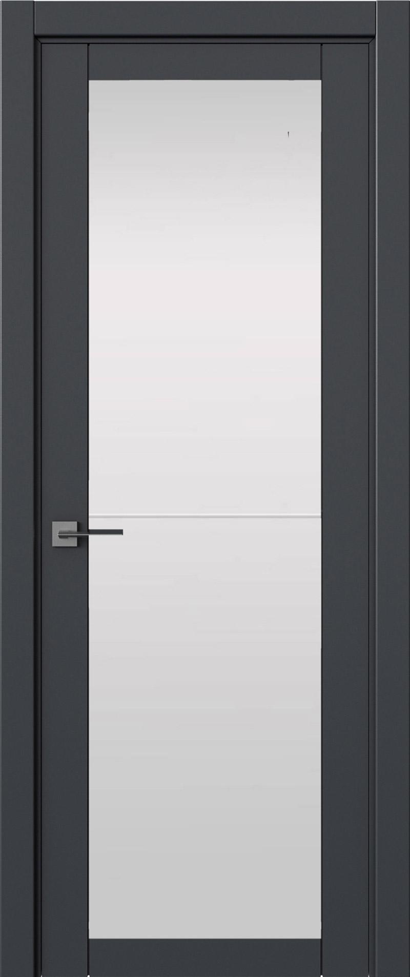 Tivoli З-2 цвет - Графитово-серая эмаль (RAL 7024) Со стеклом (ДО)