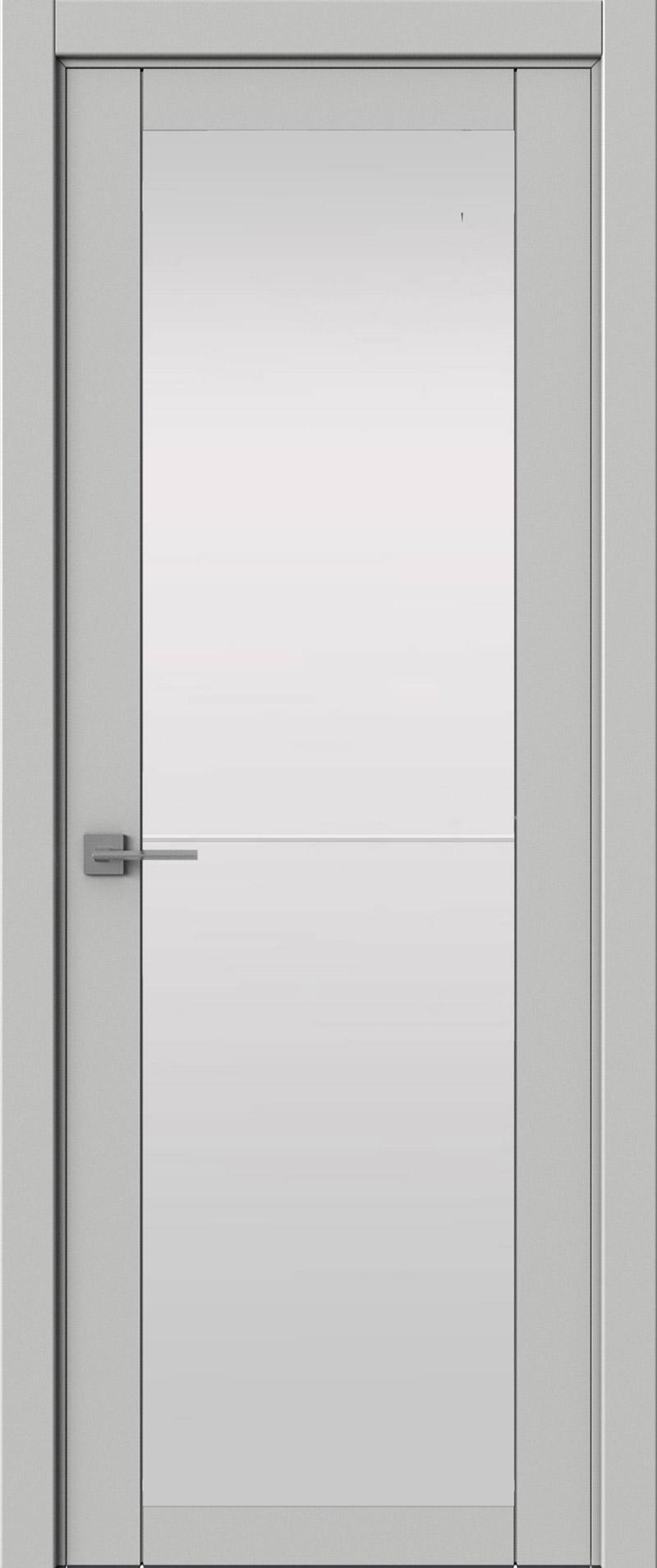 Tivoli З-2 цвет - Серая эмаль (RAL 7047) Со стеклом (ДО)