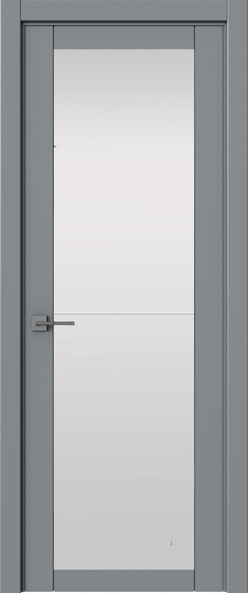 Tivoli З-2 цвет - Серебристо-серая эмаль (RAL 7045) Со стеклом (ДО)