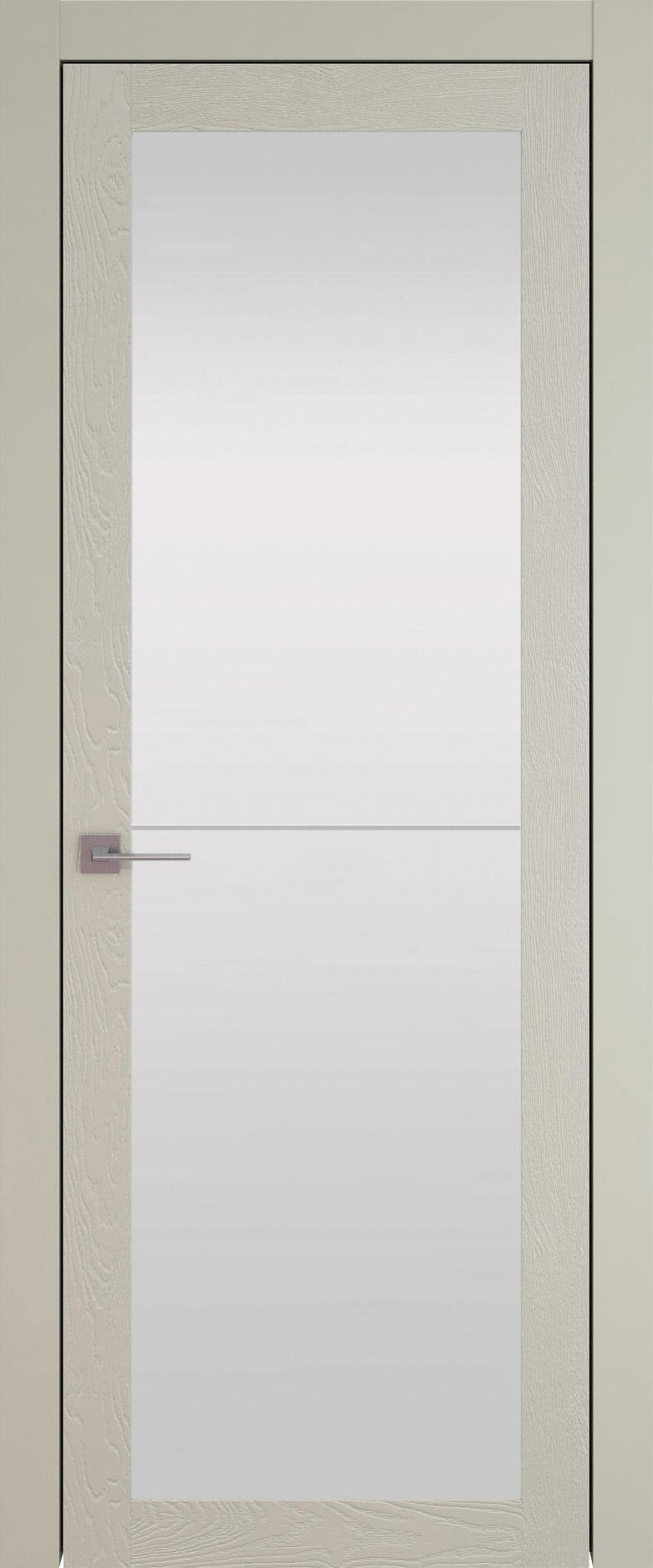 Tivoli З-2 цвет - Серо-оливковая эмаль по шпону (RAL 7032) Со стеклом (ДО)