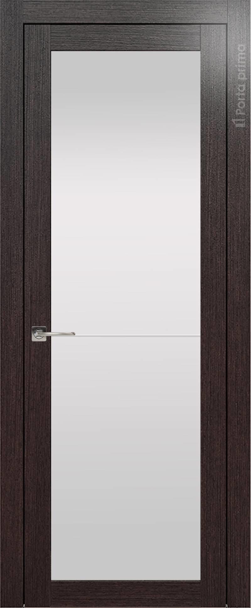 Tivoli З-2 цвет - Венге Шоколад Со стеклом (ДО)