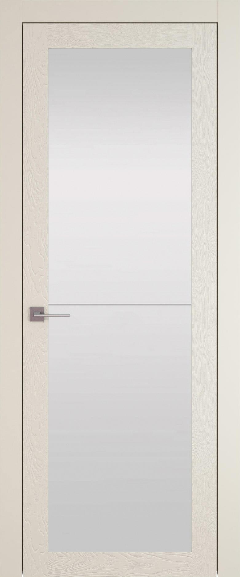 Tivoli З-2 цвет - Жемчужная эмаль по шпону (RAL 1013) Со стеклом (ДО)