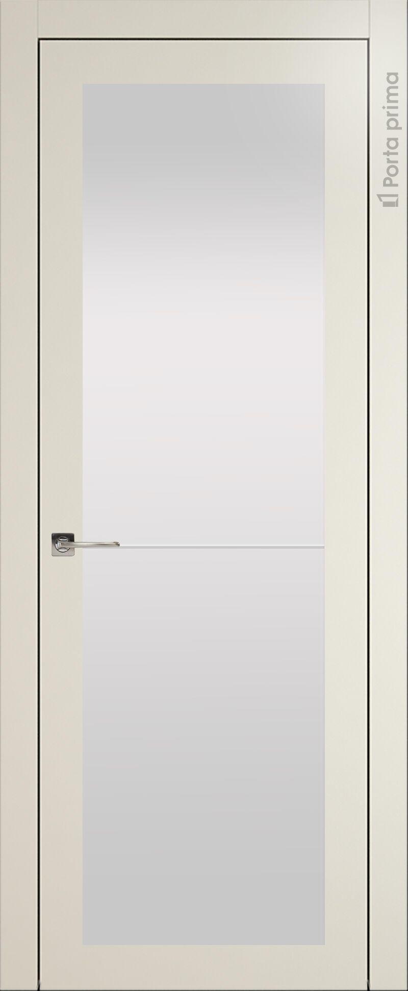 Tivoli З-2 цвет - Жемчужная эмаль (RAL 1013) Со стеклом (ДО)