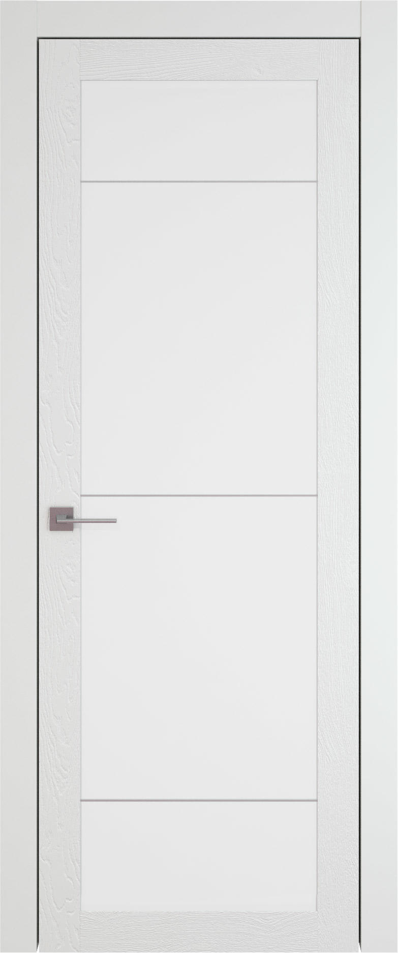 Tivoli З-3 цвет - Белая эмаль по шпону (RAL 9003) Со стеклом (ДО)
