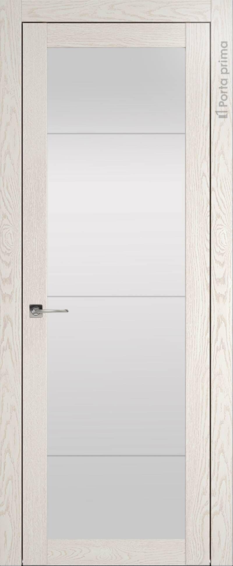 Tivoli З-3 цвет - Белый ясень (nano-flex) Со стеклом (ДО)