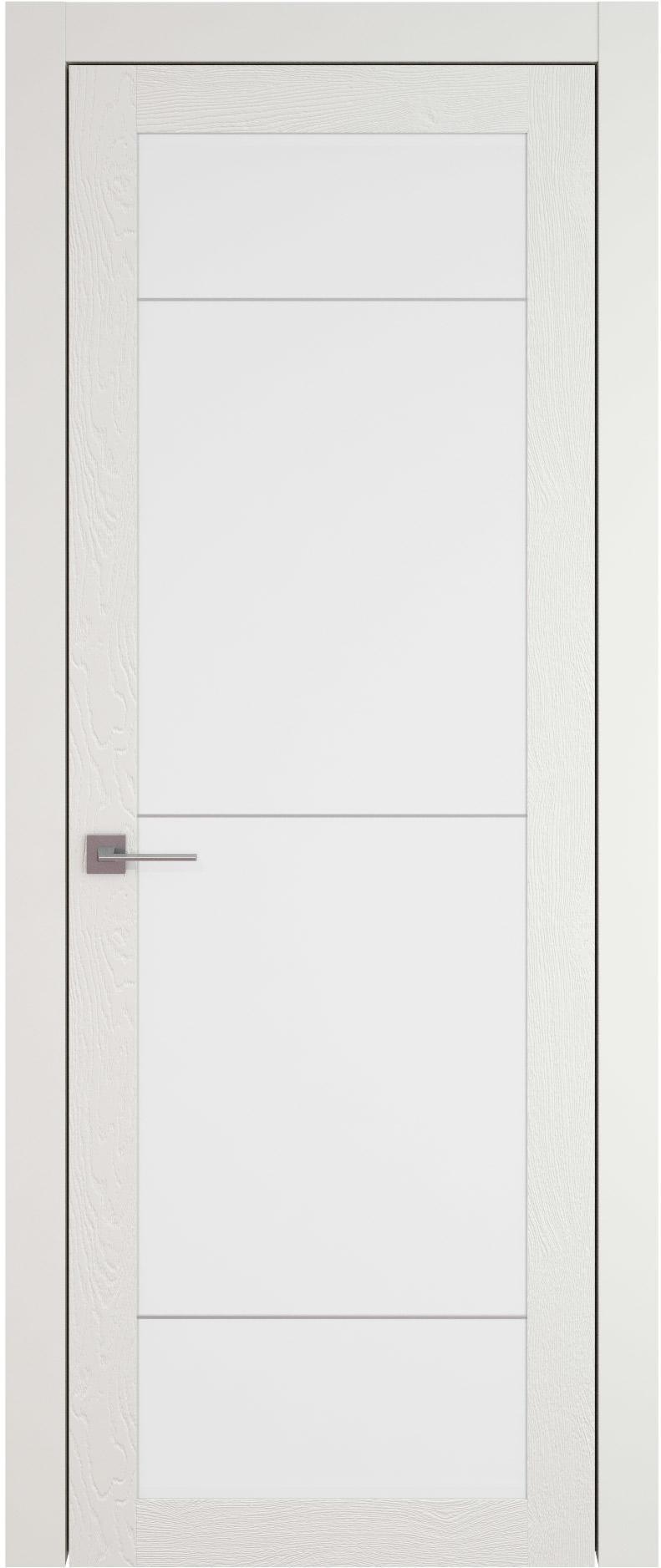 Tivoli З-3 цвет - Бежевая эмаль по шпону (RAL 9010) Со стеклом (ДО)