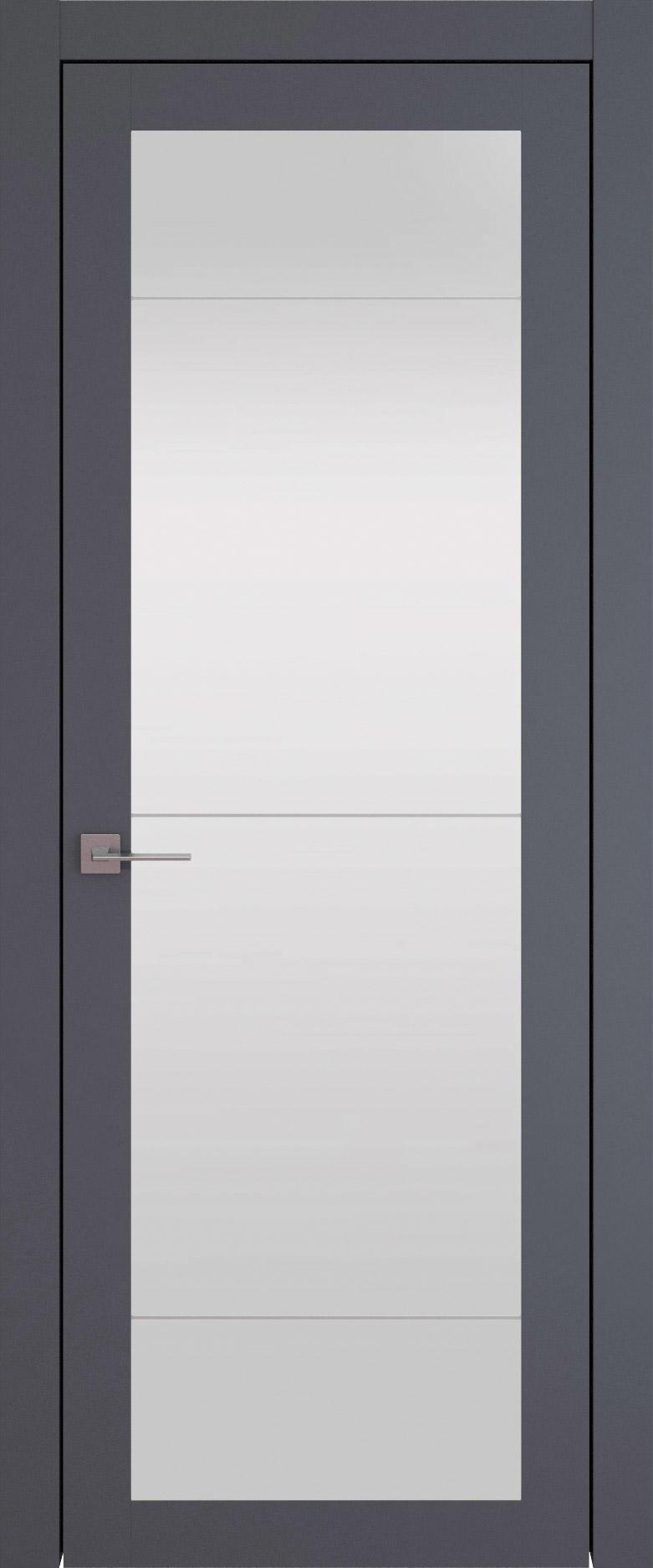 Tivoli З-3 цвет - Графитово-серая эмаль (RAL 7024) Со стеклом (ДО)