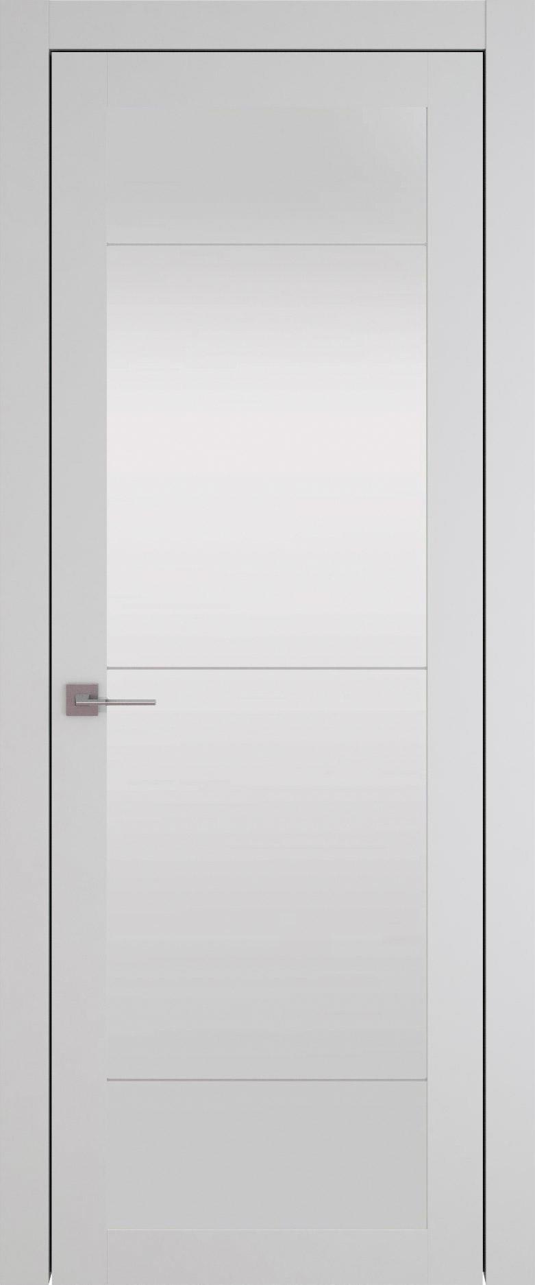 Tivoli З-3 цвет - Серая эмаль (RAL 7047) Со стеклом (ДО)