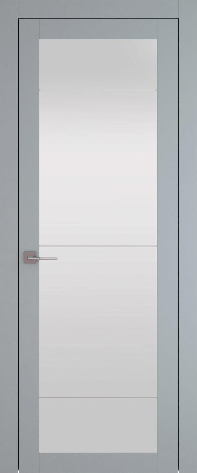 Tivoli З-3 цвет - Серебристо-серая эмаль (RAL 7045) Со стеклом (ДО)