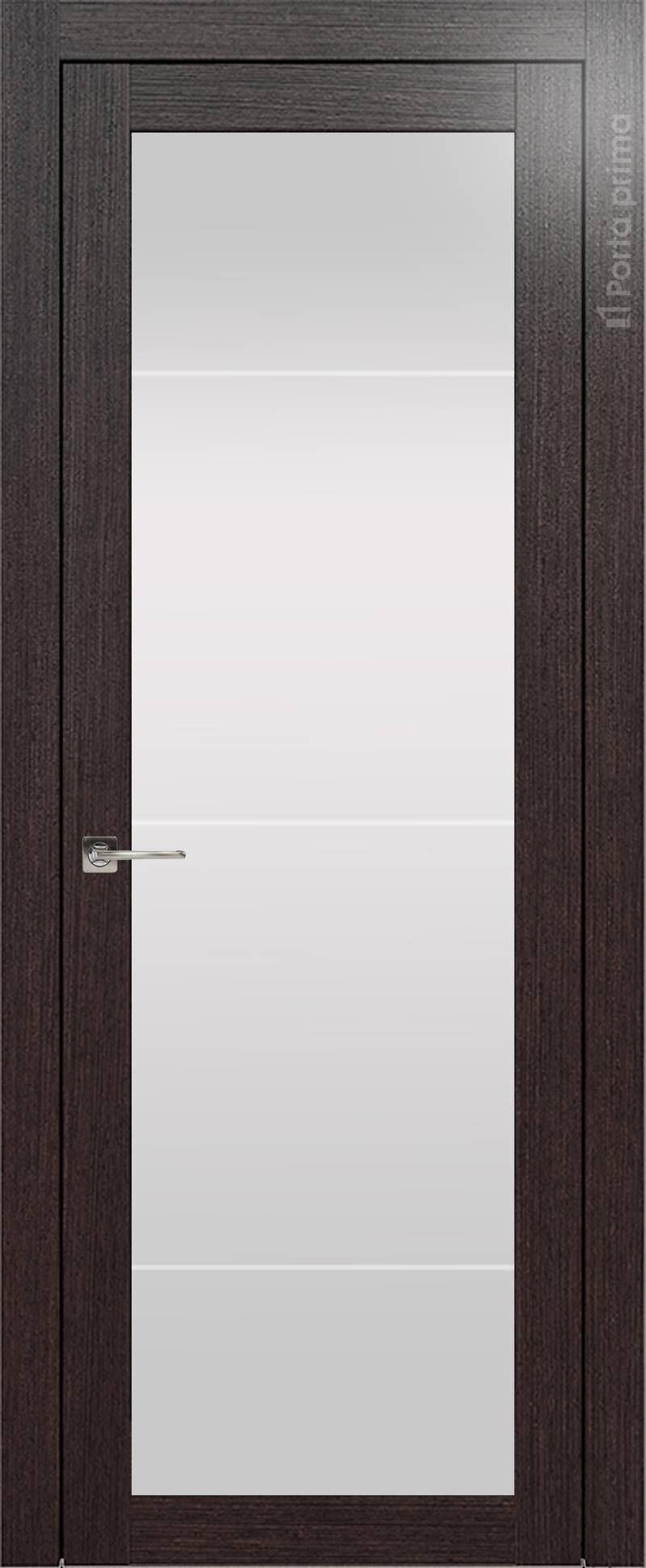 Tivoli З-3 цвет - Венге Шоколад Со стеклом (ДО)