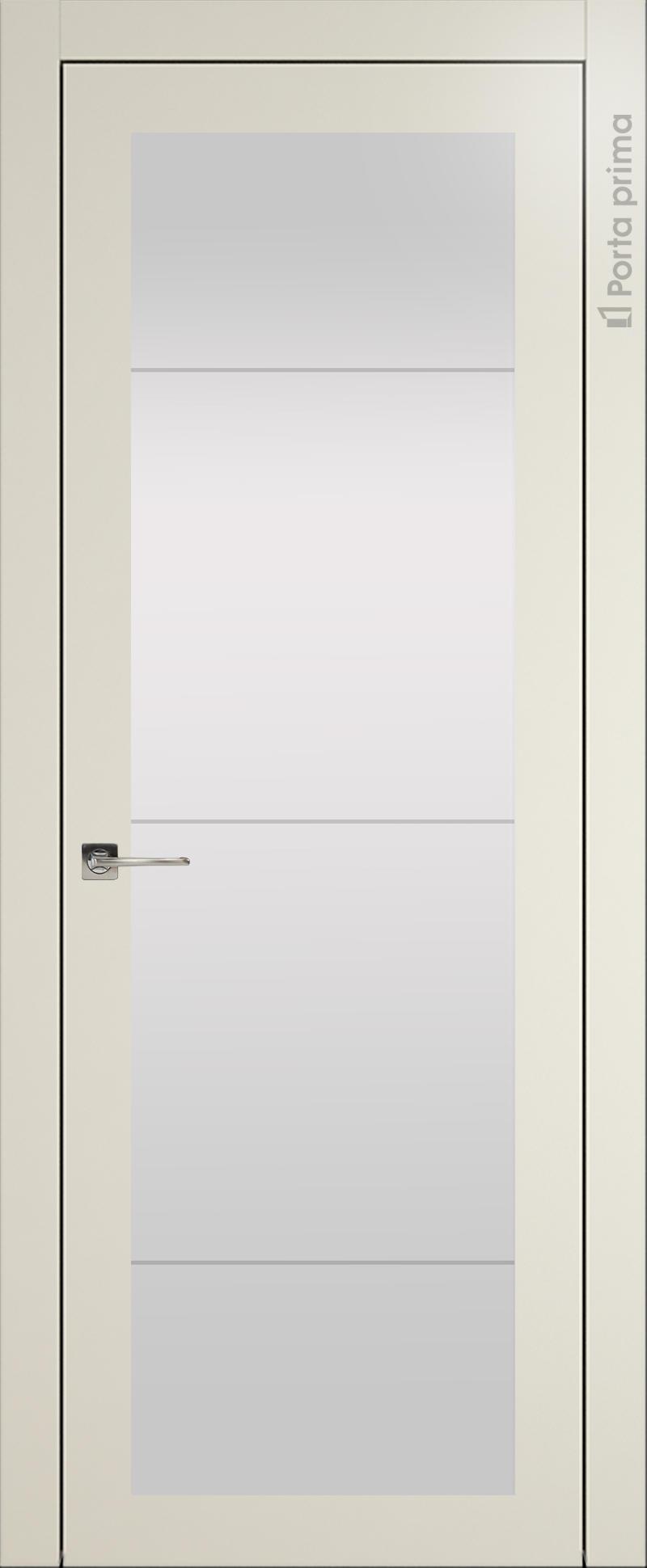 Tivoli З-3 цвет - Жемчужная эмаль (RAL 1013) Со стеклом (ДО)