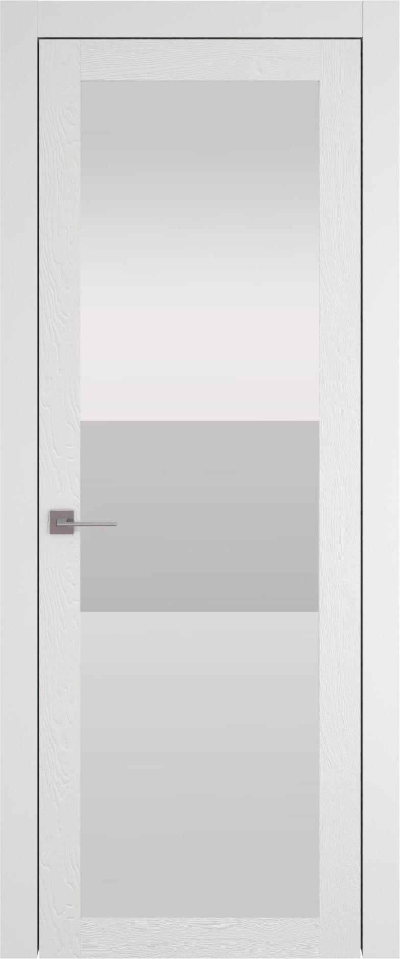 Tivoli З-4 цвет - Белая эмаль по шпону (RAL 9003) Со стеклом (ДО)