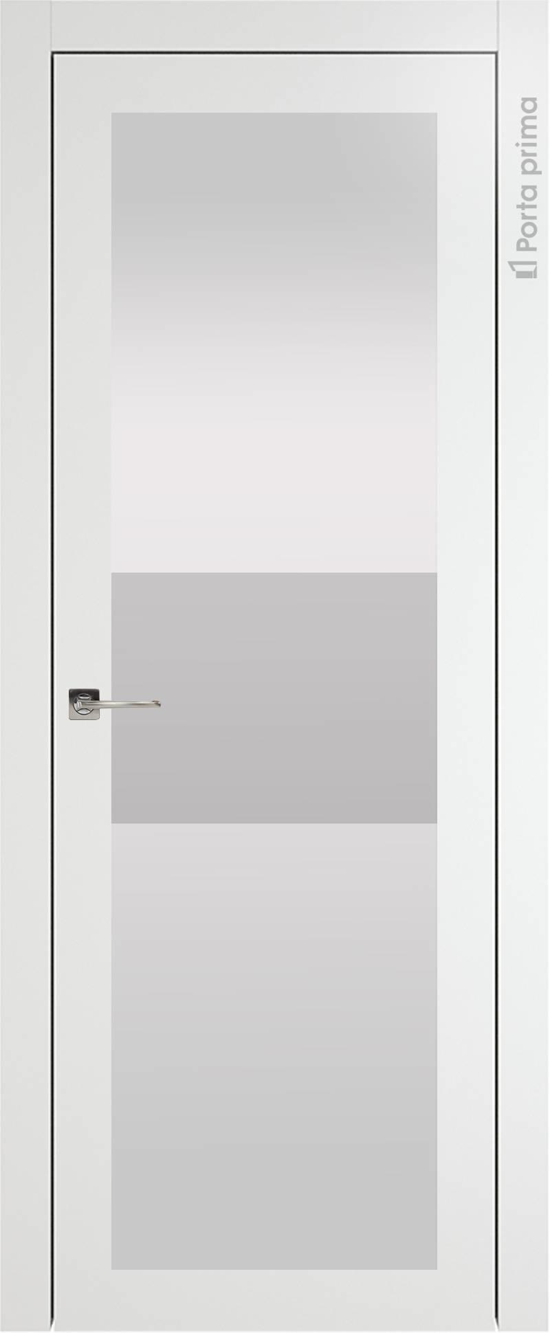 Tivoli З-4 цвет - Белая эмаль (RAL 9003) Со стеклом (ДО)