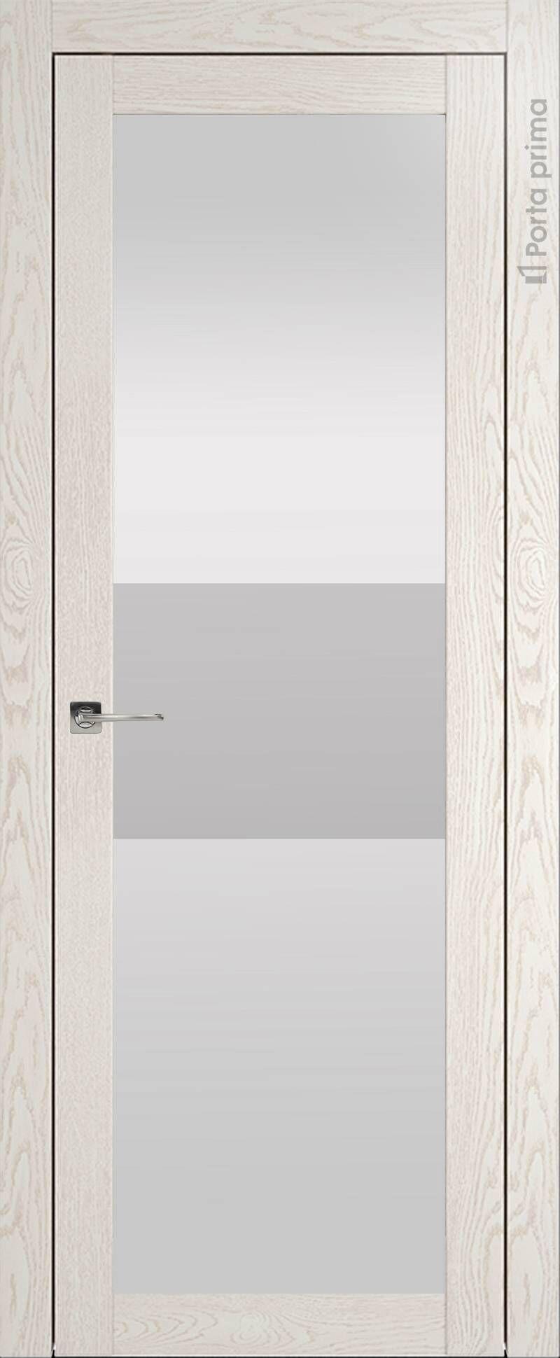 Tivoli З-4 цвет - Белый ясень (nano-flex) Со стеклом (ДО)