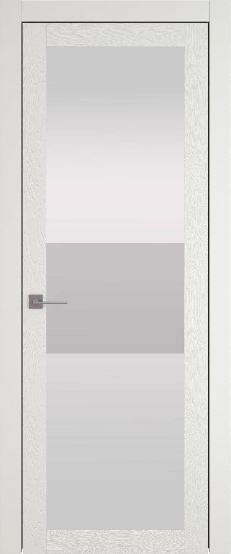 Tivoli З-4 цвет - Бежевая эмаль по шпону (RAL 9010) Со стеклом (ДО)