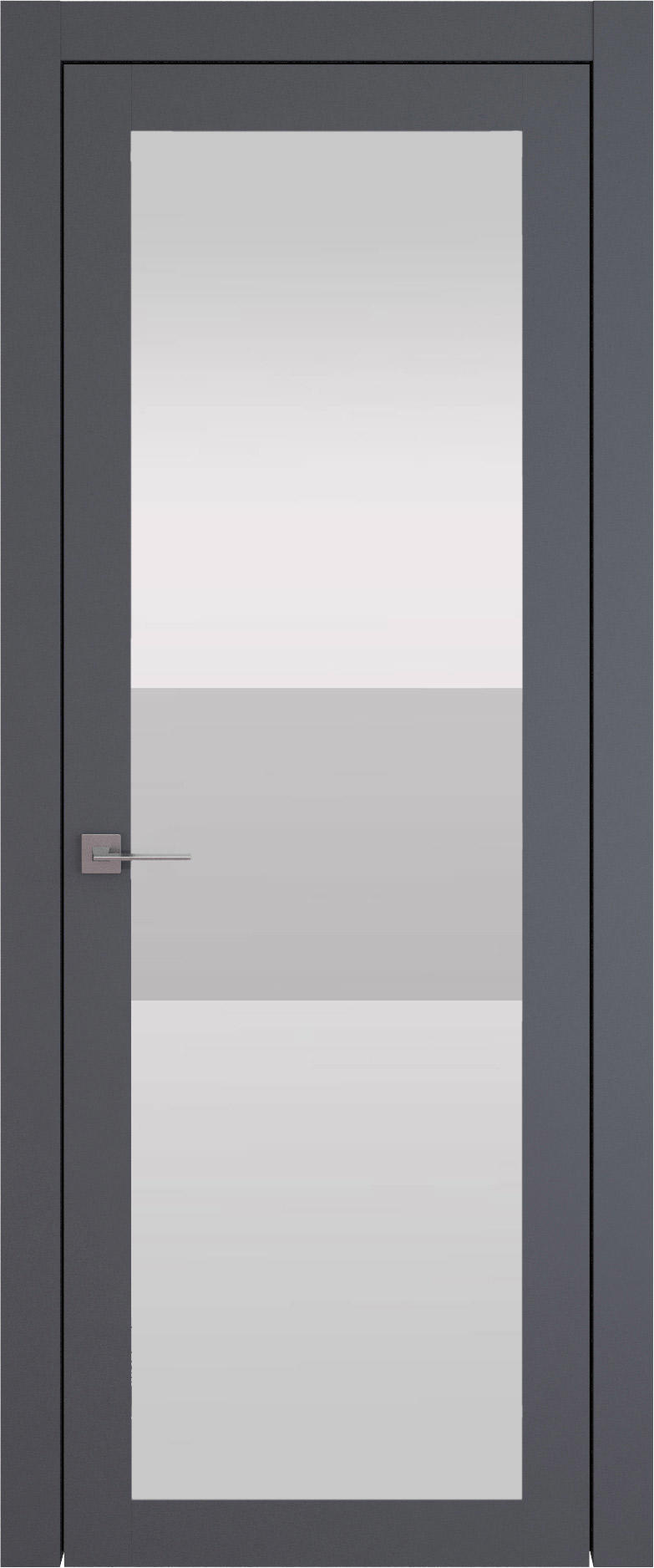 Tivoli З-4 цвет - Графитово-серая эмаль (RAL 7024) Со стеклом (ДО)