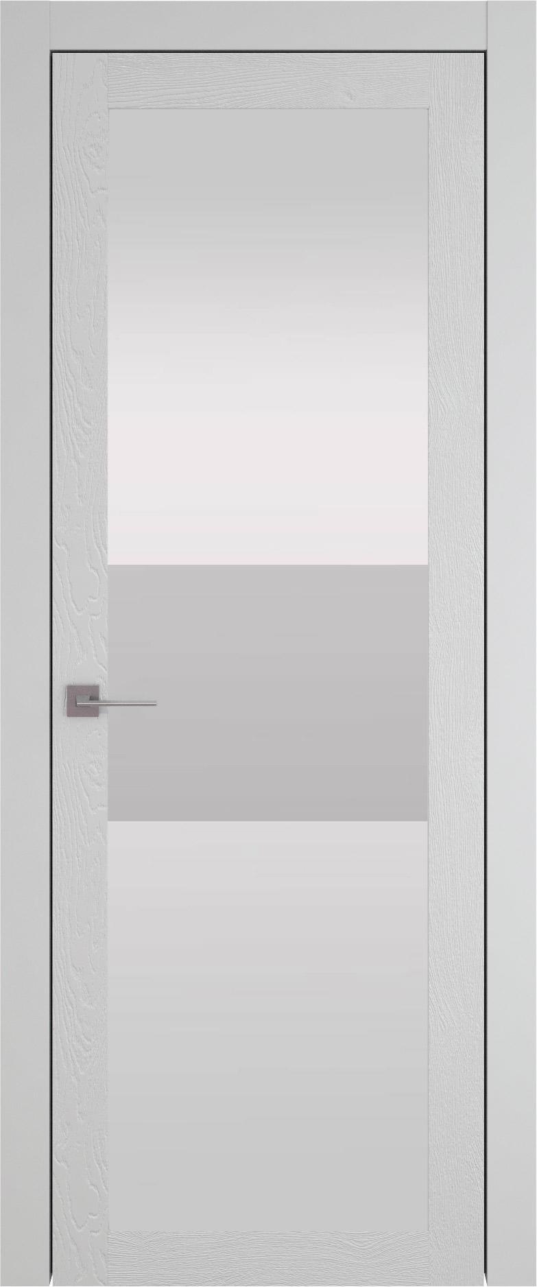 Tivoli З-4 цвет - Серая эмаль по шпону (RAL 7047) Со стеклом (ДО)