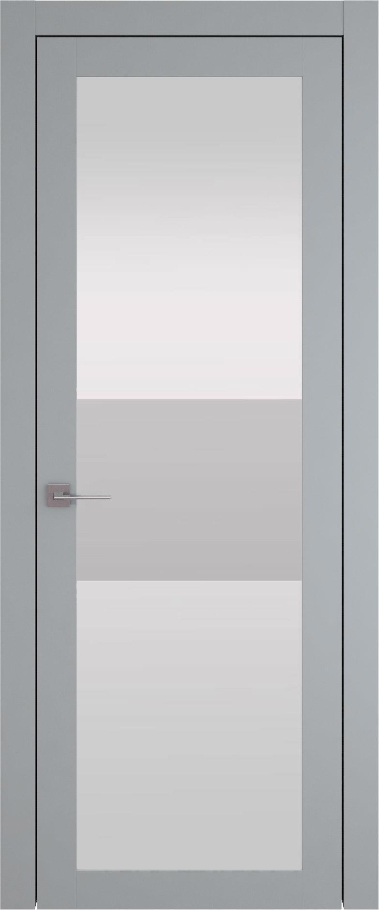 Tivoli З-4 цвет - Серебристо-серая эмаль (RAL 7045) Со стеклом (ДО)