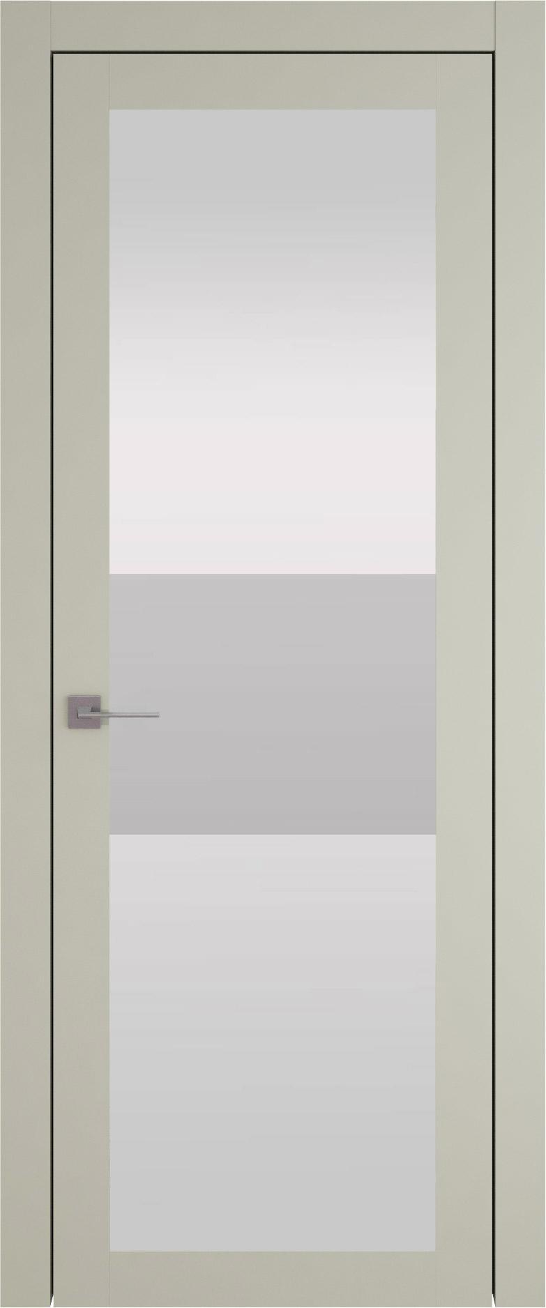 Tivoli З-4 цвет - Серо-оливковая эмаль (RAL 7032) Со стеклом (ДО)