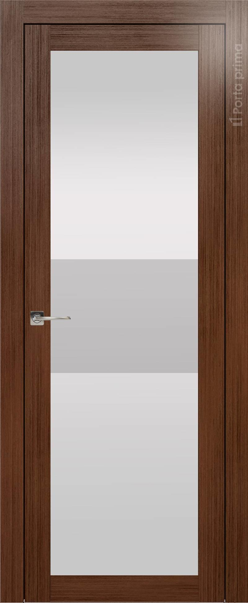Tivoli З-4 цвет - Темный орех Со стеклом (ДО)