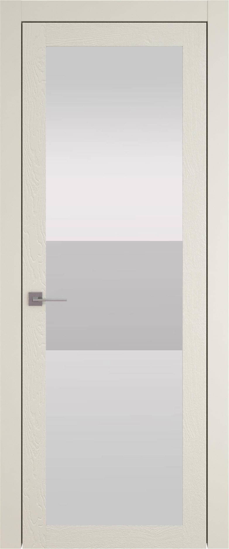Tivoli З-4 цвет - Жемчужная эмаль по шпону (RAL 1013) Со стеклом (ДО)