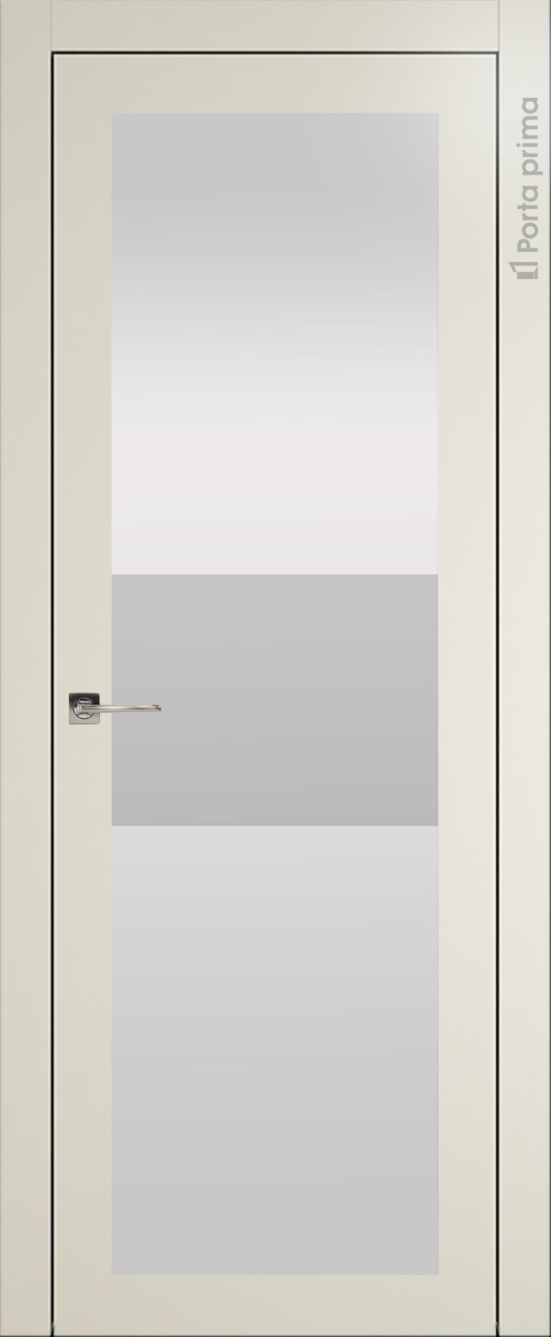 Tivoli З-4 цвет - Жемчужная эмаль (RAL 1013) Со стеклом (ДО)