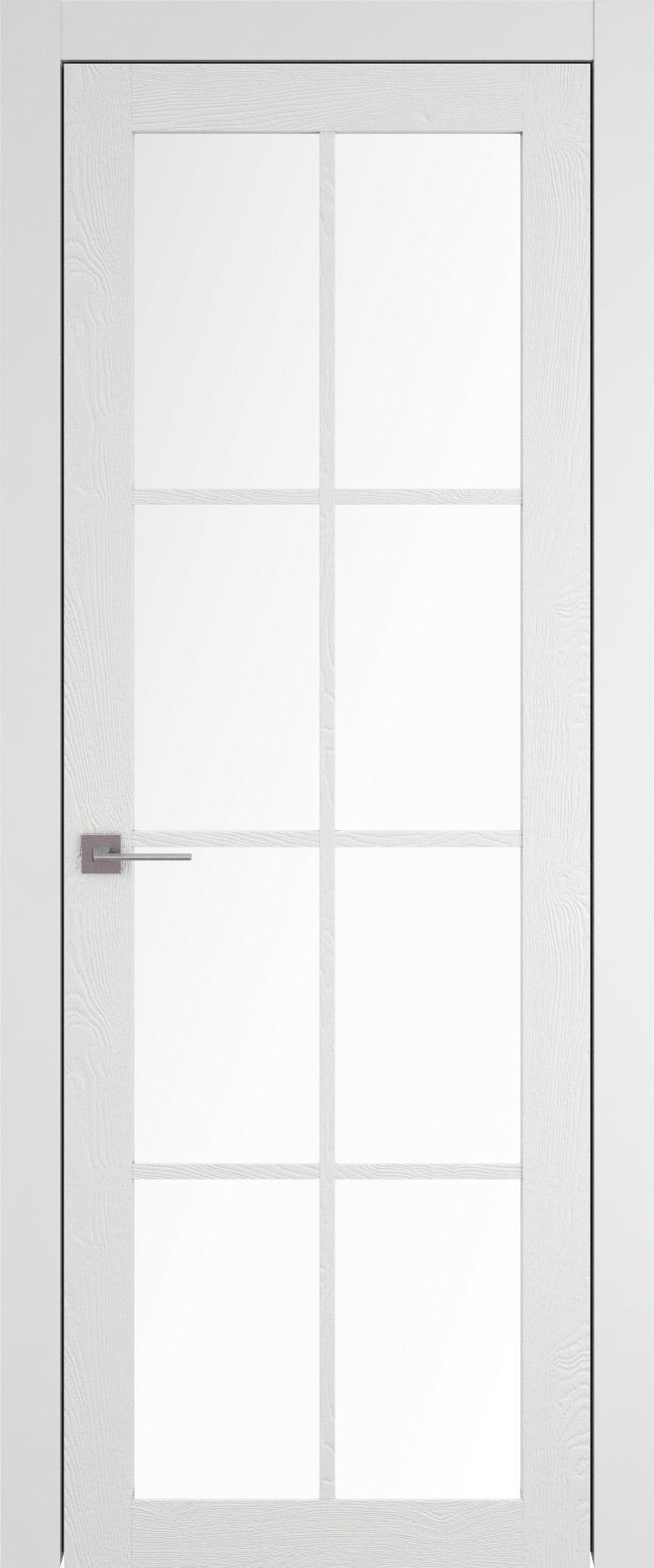 Tivoli З-5 цвет - Белая эмаль по шпону (RAL 9003) Со стеклом (ДО)