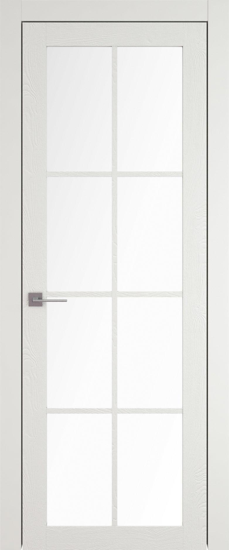 Tivoli З-5 цвет - Бежевая эмаль по шпону (RAL 9010) Со стеклом (ДО)