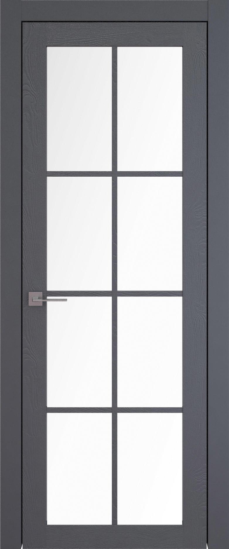 Tivoli З-5 цвет - Графитово-серая эмаль по шпону (RAL 7024) Со стеклом (ДО)