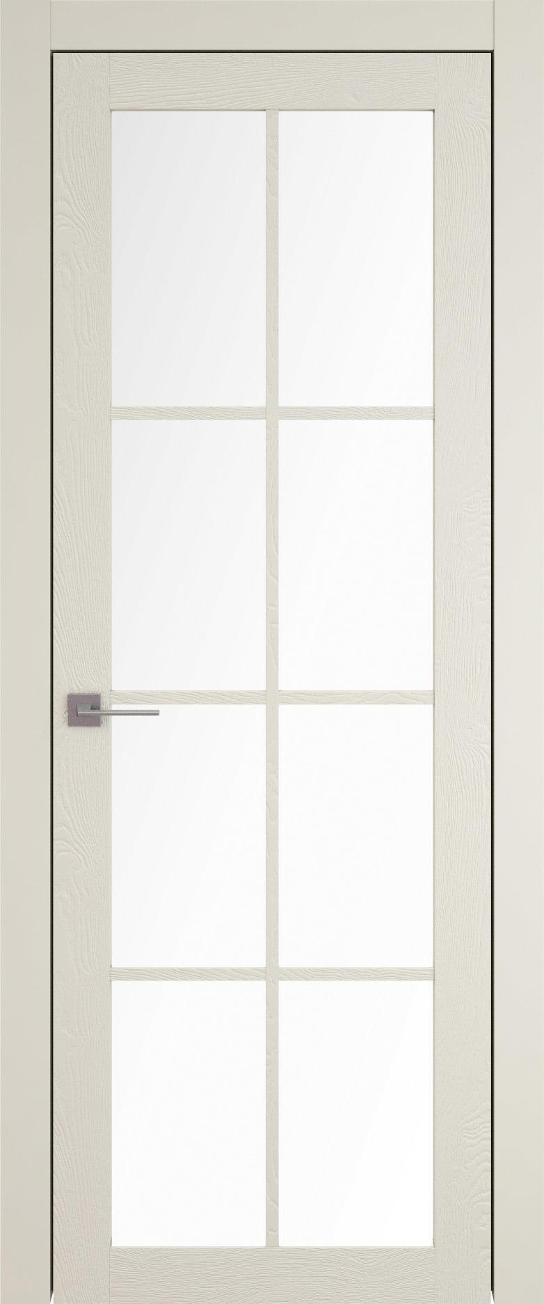 Tivoli З-5 цвет - Жемчужная эмаль по шпону (RAL 1013) Со стеклом (ДО)