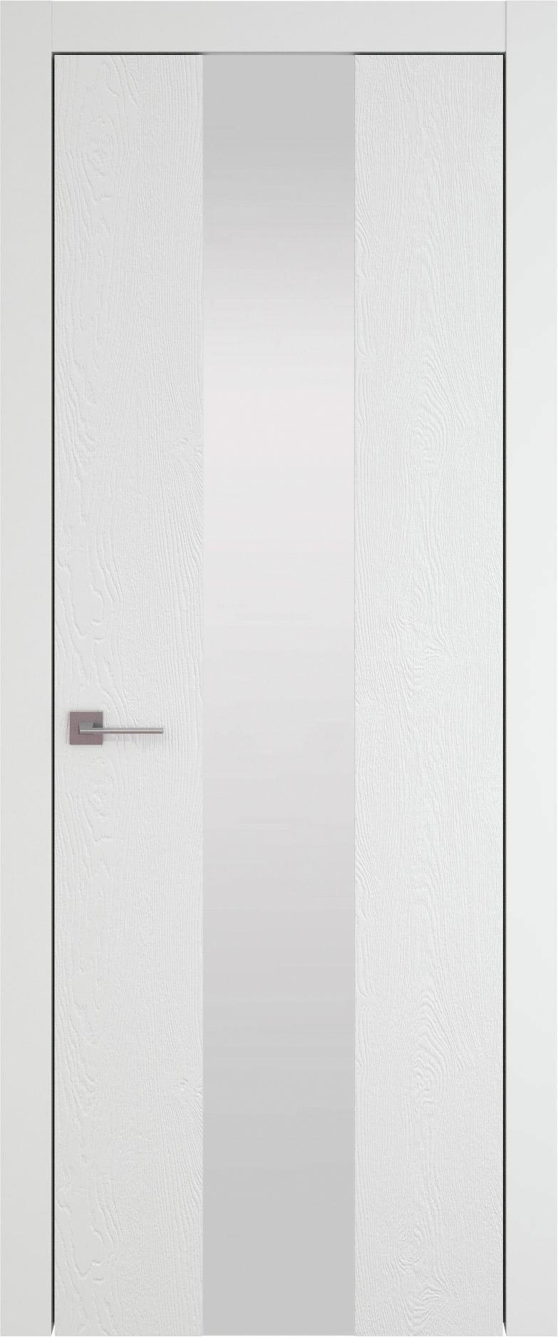 Tivoli Ж-1 цвет - Белая эмаль по шпону (RAL 9003) Со стеклом (ДО)