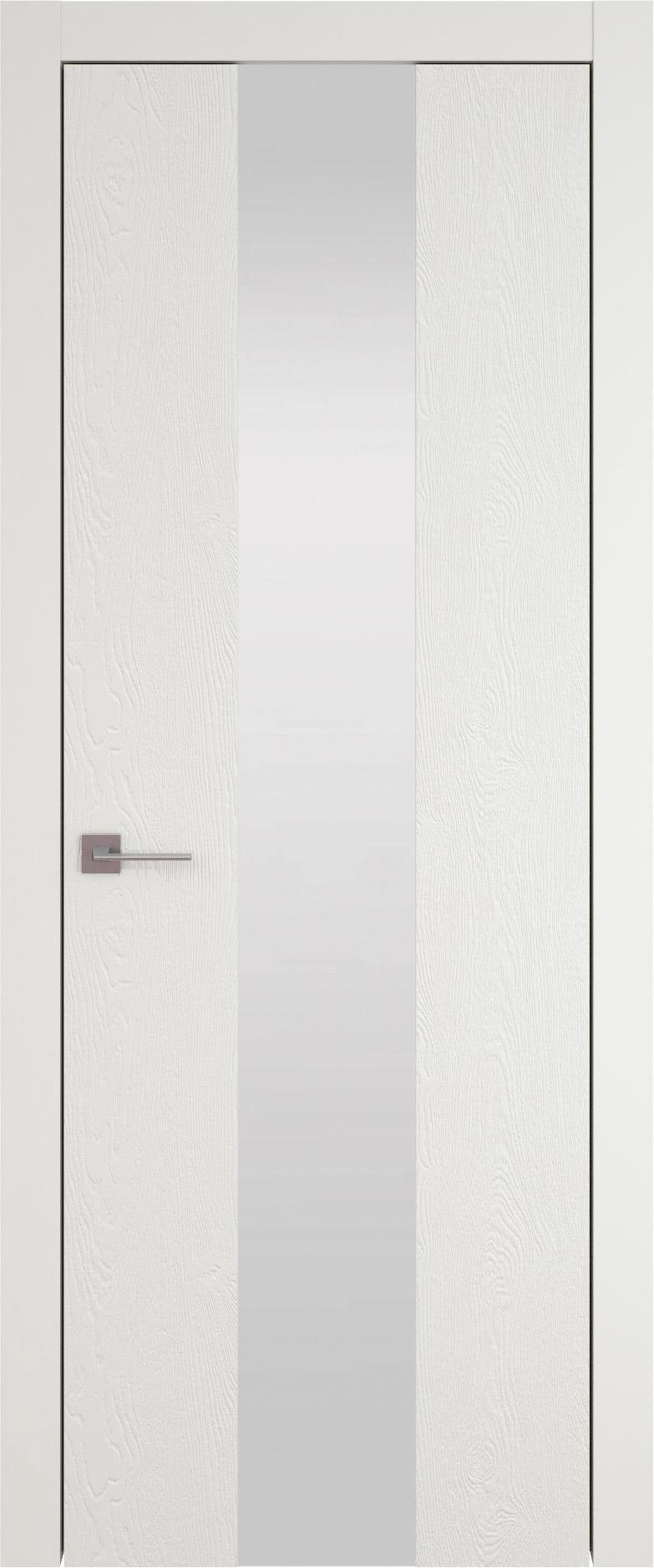 Tivoli Ж-1 цвет - Бежевая эмаль по шпону (RAL 9010) Со стеклом (ДО)
