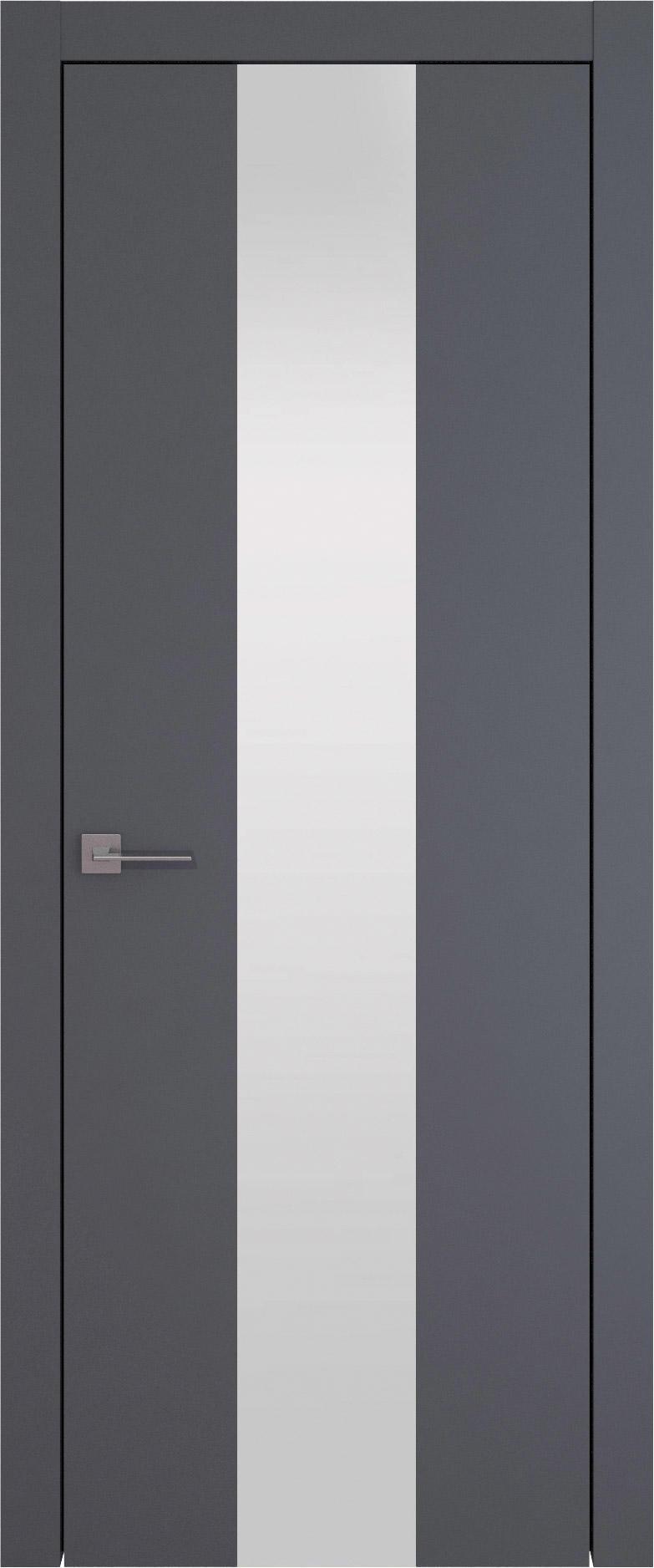 Tivoli Ж-1 цвет - Графитово-серая эмаль (RAL 7024) Со стеклом (ДО)