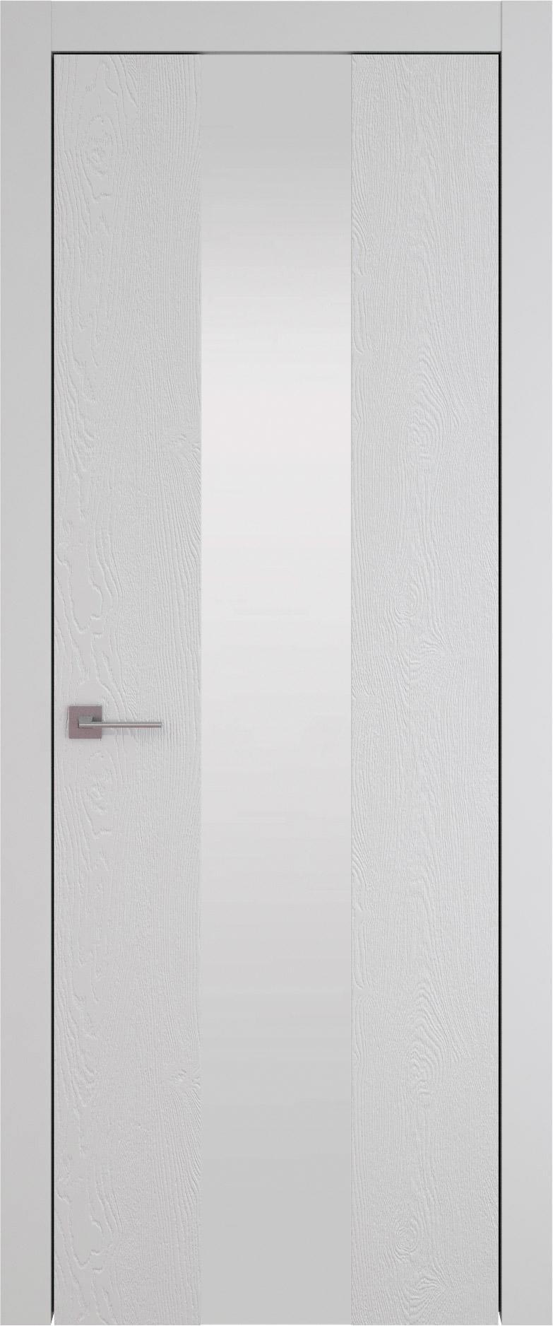 Tivoli Ж-1 цвет - Серая эмаль по шпону (RAL 7047) Со стеклом (ДО)