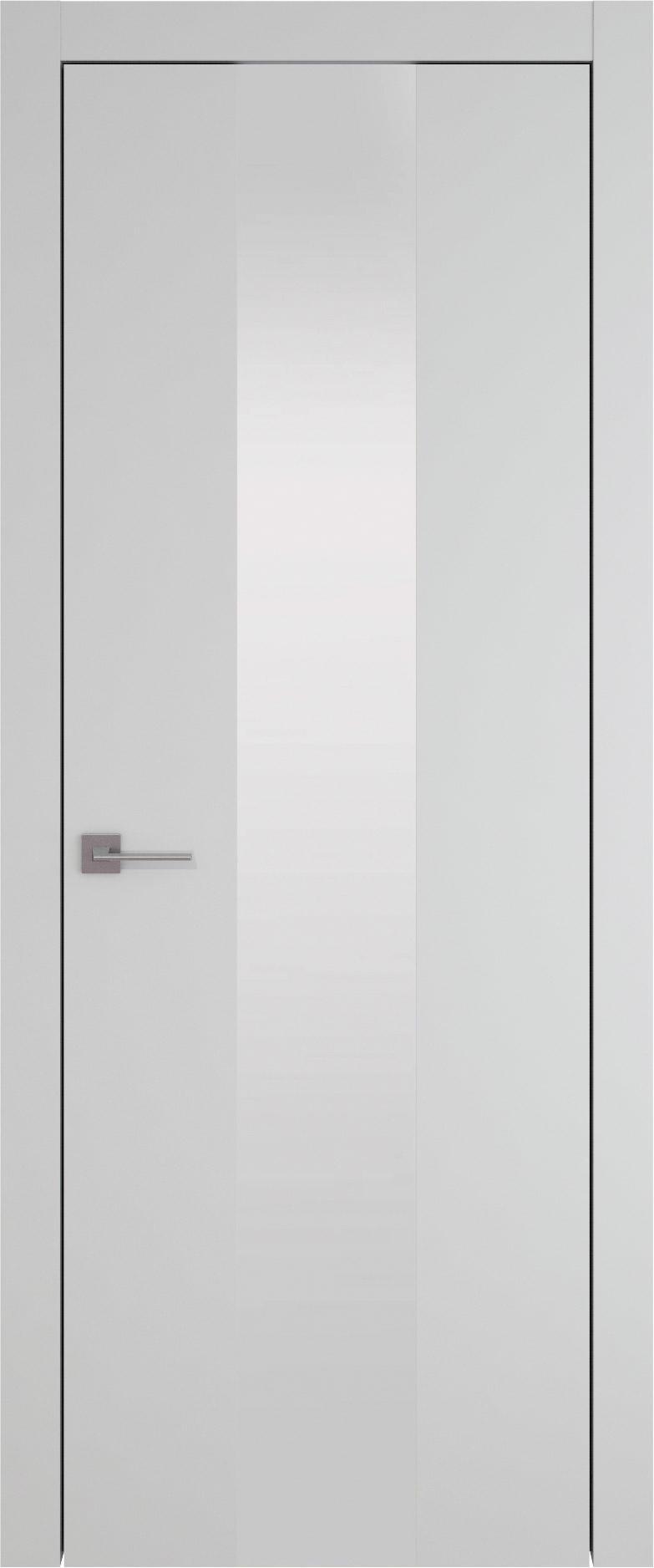 Tivoli Ж-1 цвет - Серая эмаль (RAL 7047) Со стеклом (ДО)