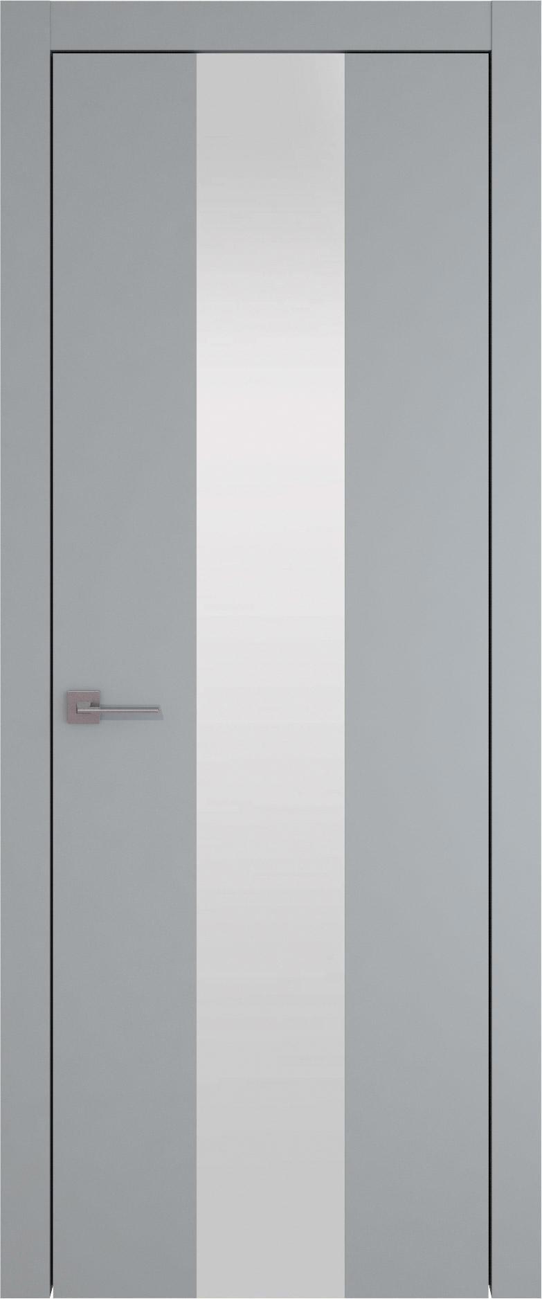 Tivoli Ж-1 цвет - Серебристо-серая эмаль (RAL 7045) Со стеклом (ДО)