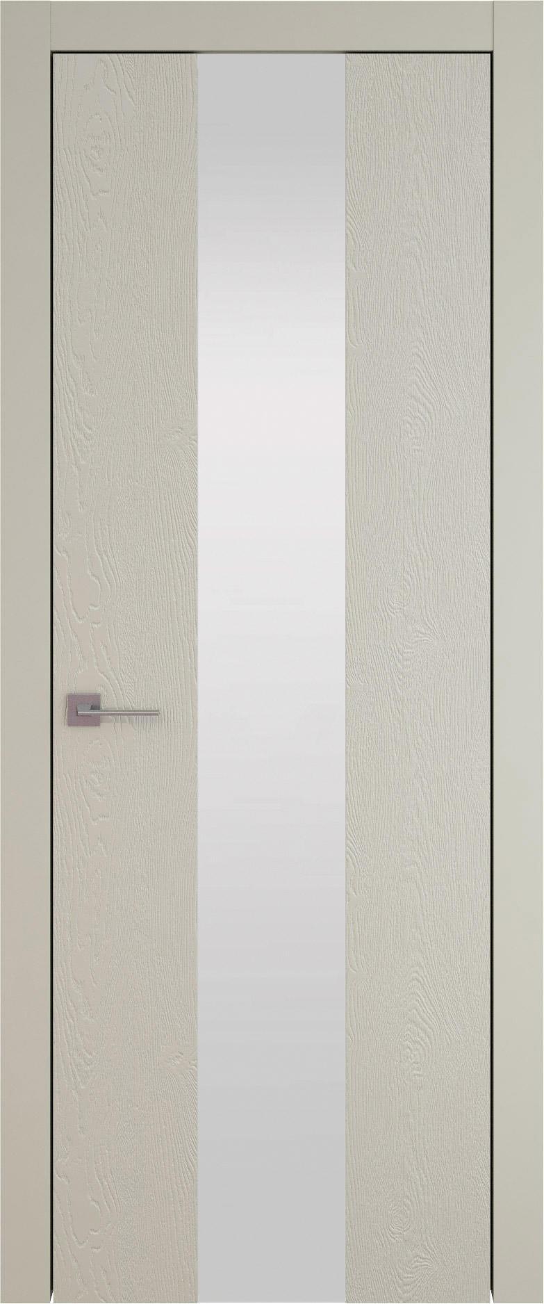 Tivoli Ж-1 цвет - Серо-оливковая эмаль по шпону (RAL 7032) Со стеклом (ДО)