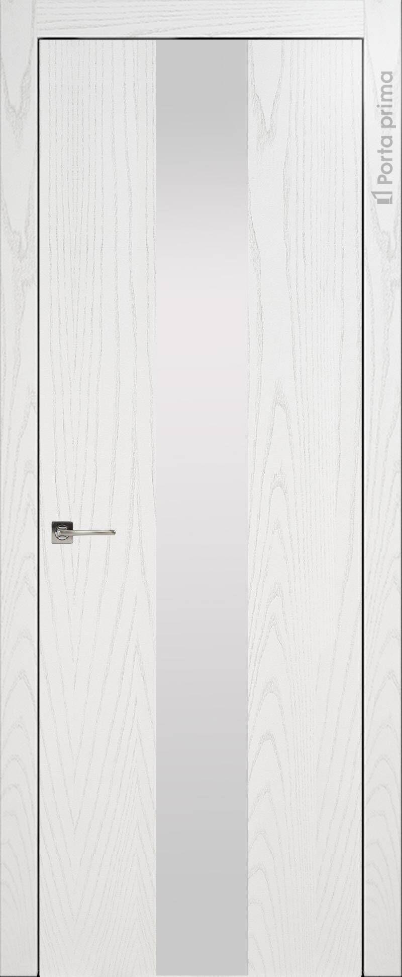 Tivoli Ж-1 цвет - Белый ясень (шпон) Со стеклом (ДО)