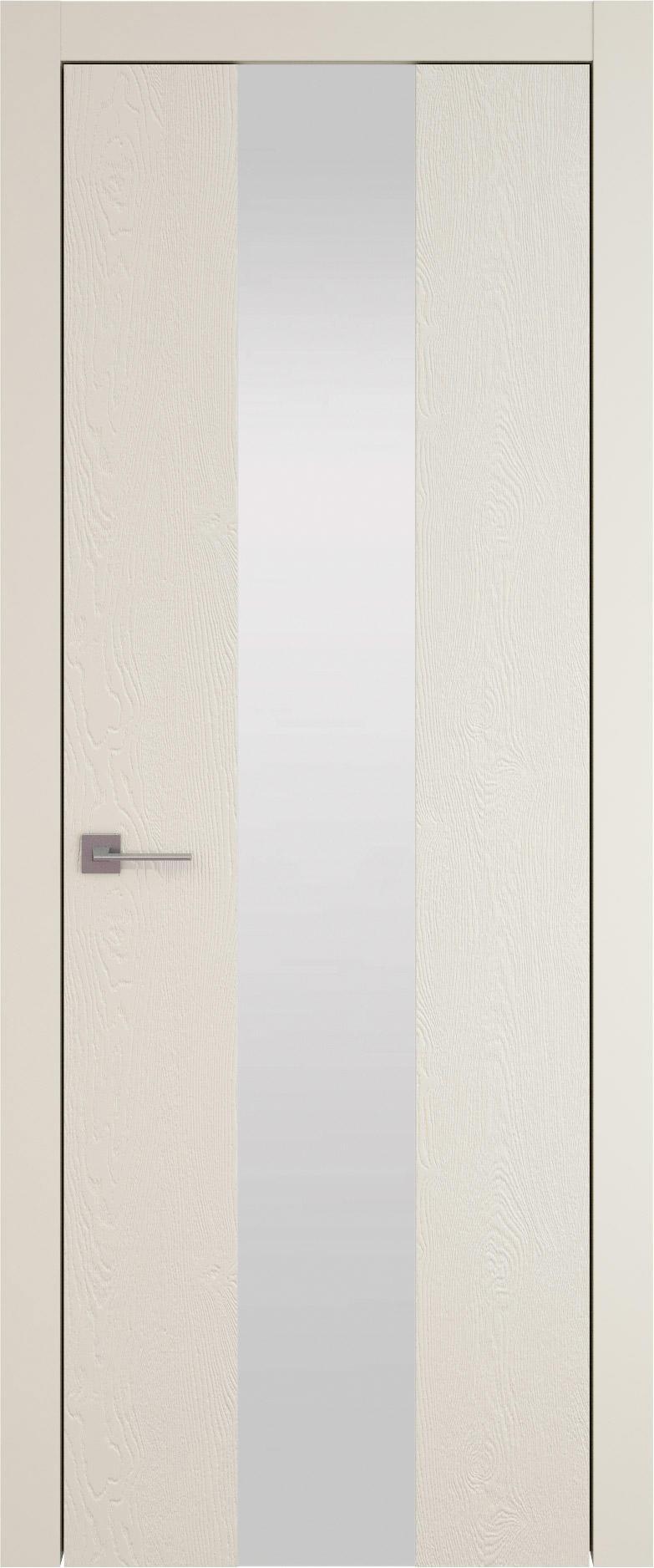 Tivoli Ж-1 цвет - Жемчужная эмаль по шпону (RAL 1013) Со стеклом (ДО)