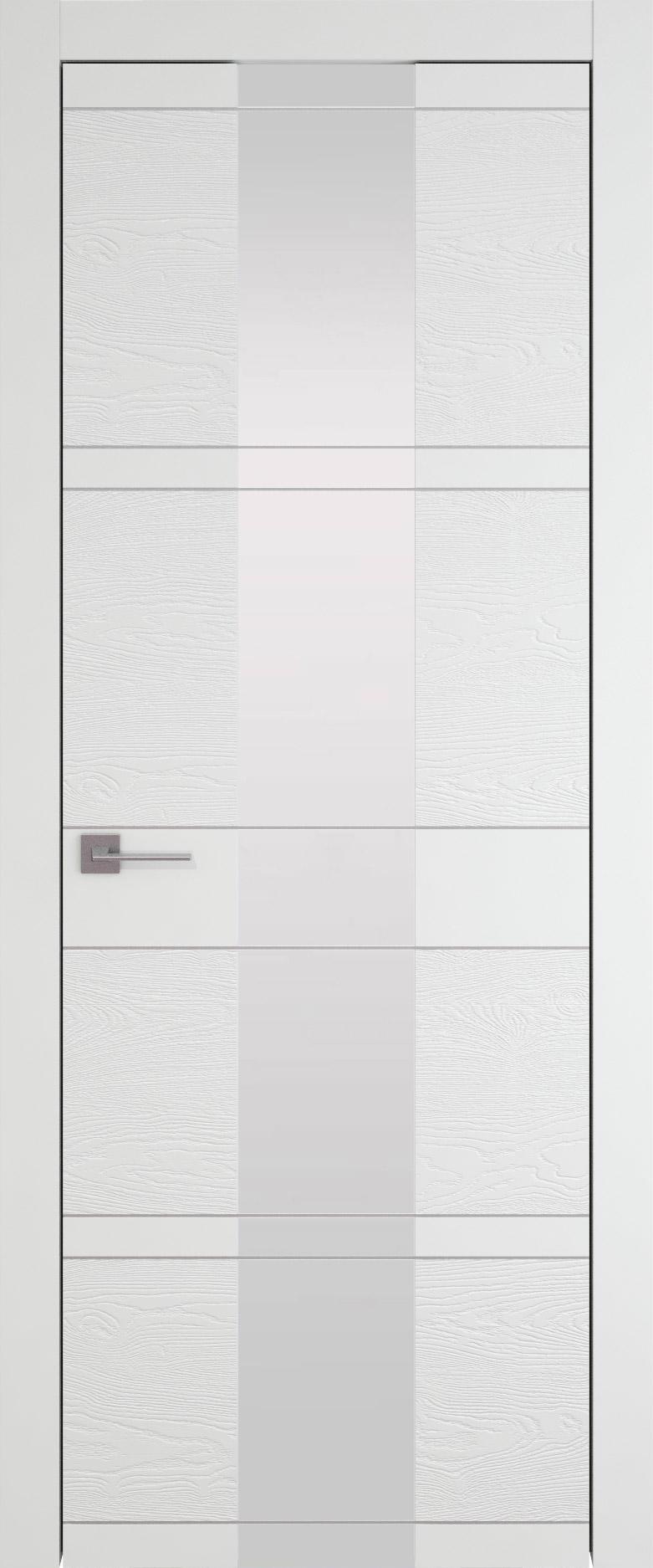 Tivoli Ж-2 цвет - Белая эмаль-эмаль по шпону (RAL 9003) Со стеклом (ДО)