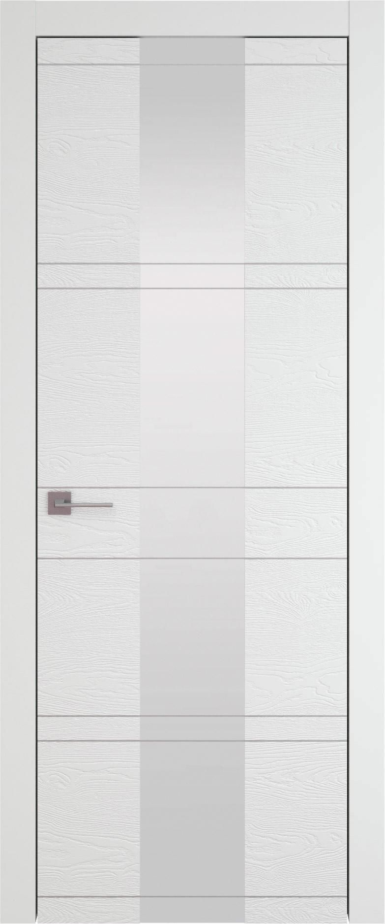 Tivoli Ж-2 цвет - Белая эмаль по шпону (RAL 9003) Со стеклом (ДО)