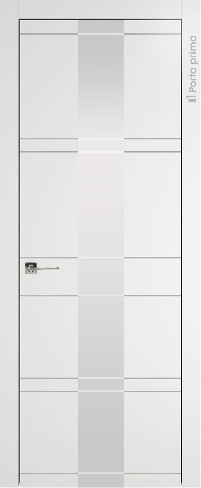 Tivoli Ж-2 цвет - Белая эмаль (RAL 9003) Со стеклом (ДО)