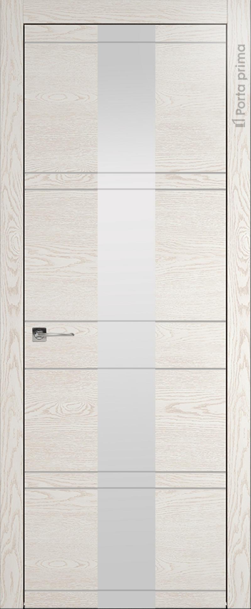 Tivoli Ж-2 цвет - Белый ясень (nano-flex) Со стеклом (ДО)