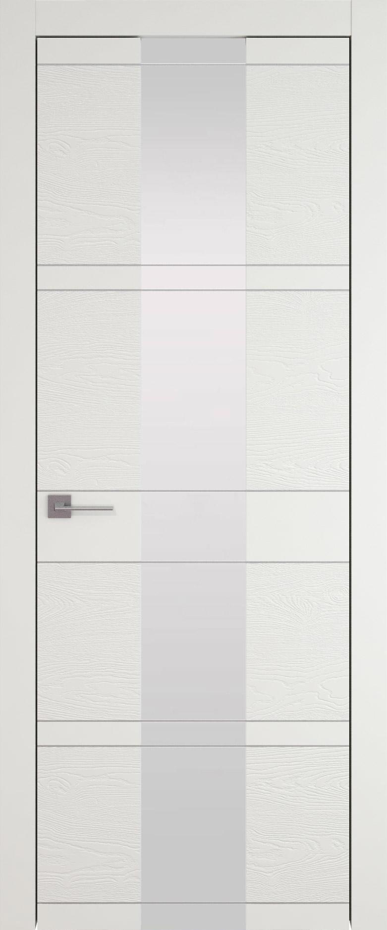 Tivoli Ж-2 цвет - Бежевая эмаль-эмаль по шпону (RAL 9010) Со стеклом (ДО)