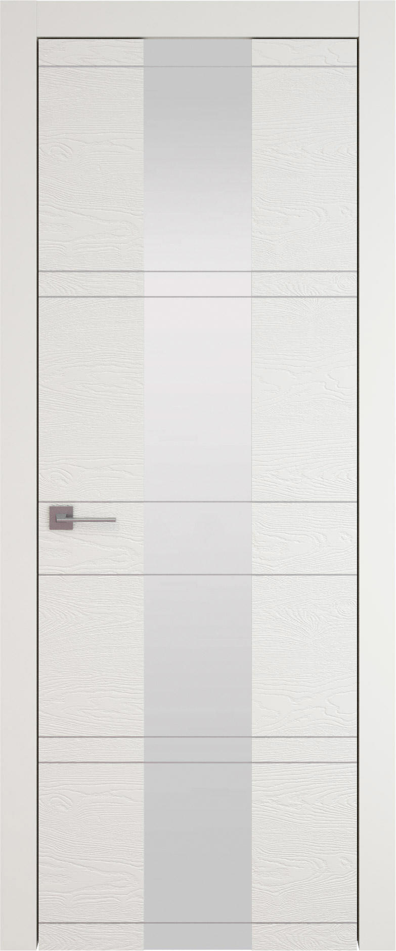 Tivoli Ж-2 цвет - Бежевая эмаль по шпону (RAL 9010) Со стеклом (ДО)