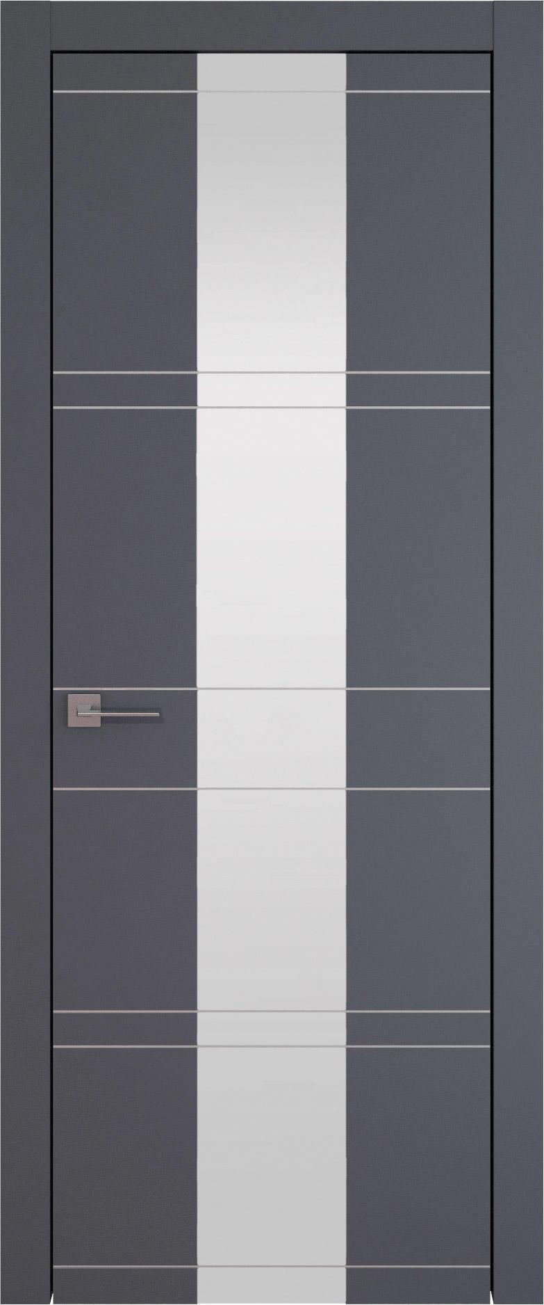 Tivoli Ж-2 цвет - Графитово-серая эмаль (RAL 7024) Со стеклом (ДО)