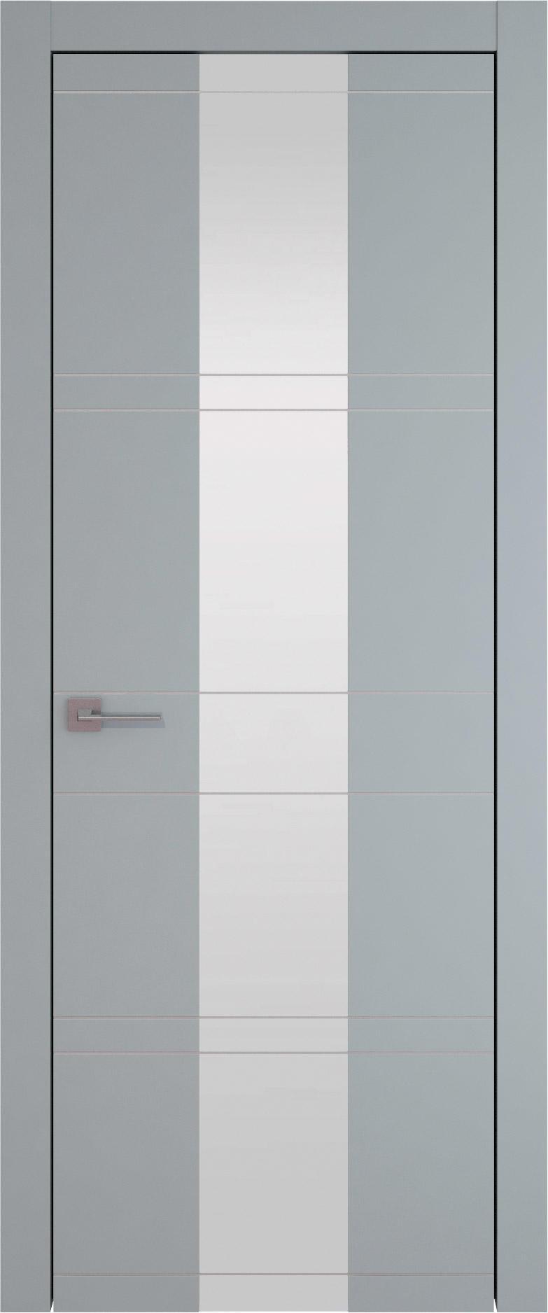 Tivoli Ж-2 цвет - Серебристо-серая эмаль (RAL 7045) Со стеклом (ДО)